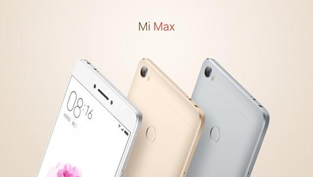 Mi Max colors