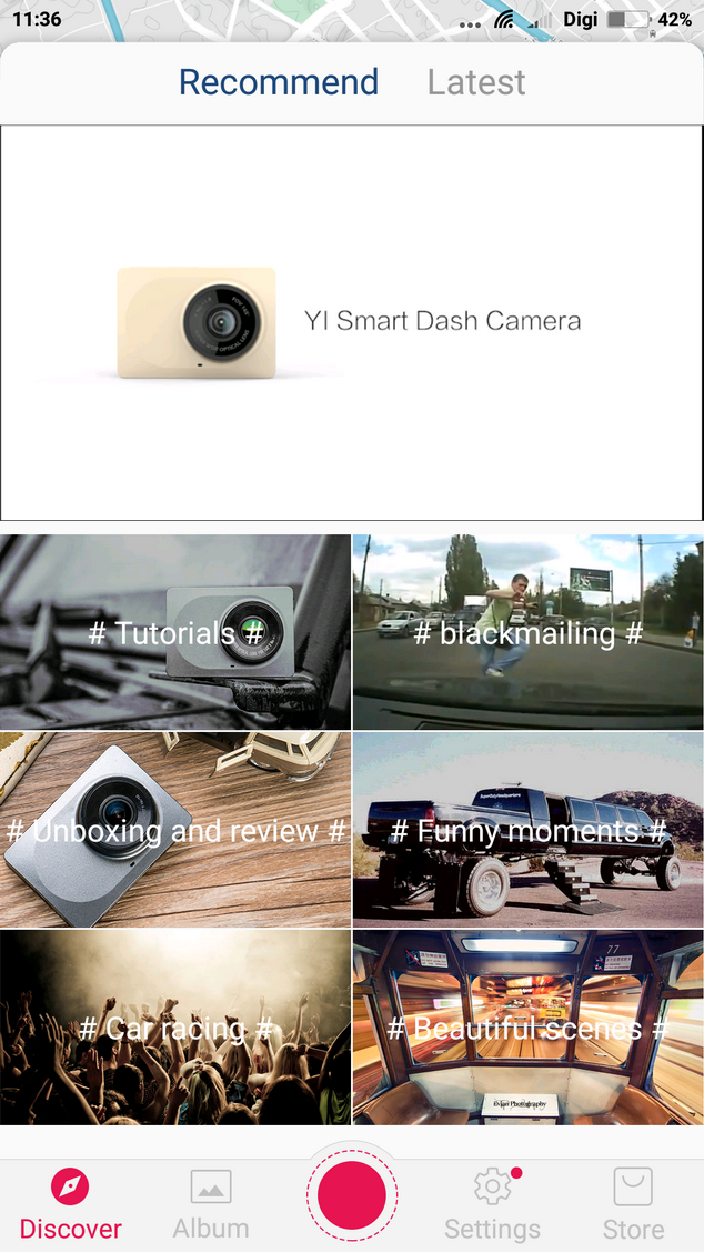 Xiaomi YI Dashcam