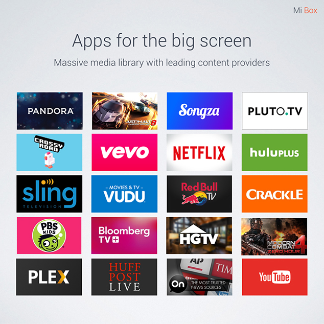 BIG SCREEN APP