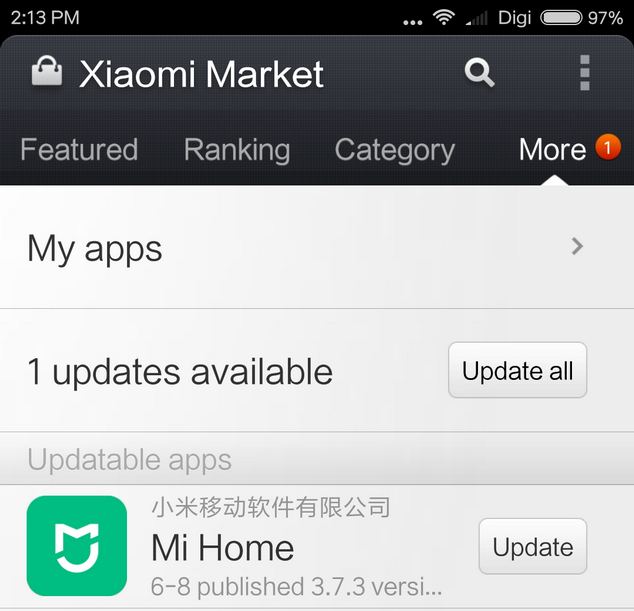 Download Xiaomi Mi Home Android Application v3 7 3 - Xiaomi