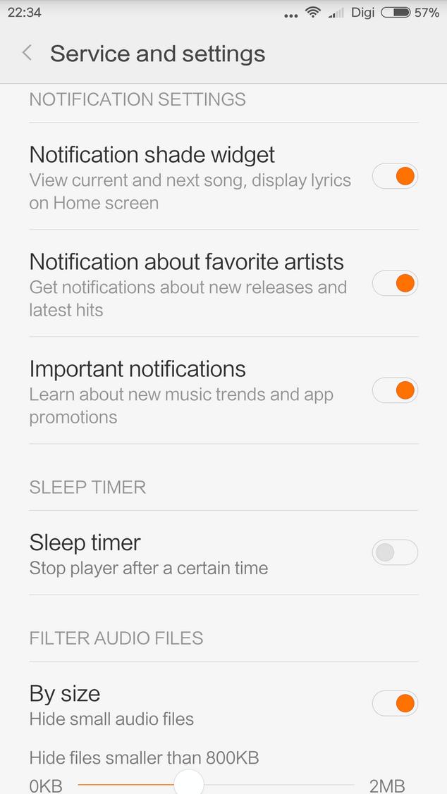 Xiaomi Mi Music Player