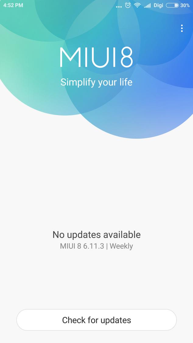 Xiaomi MIUI8r