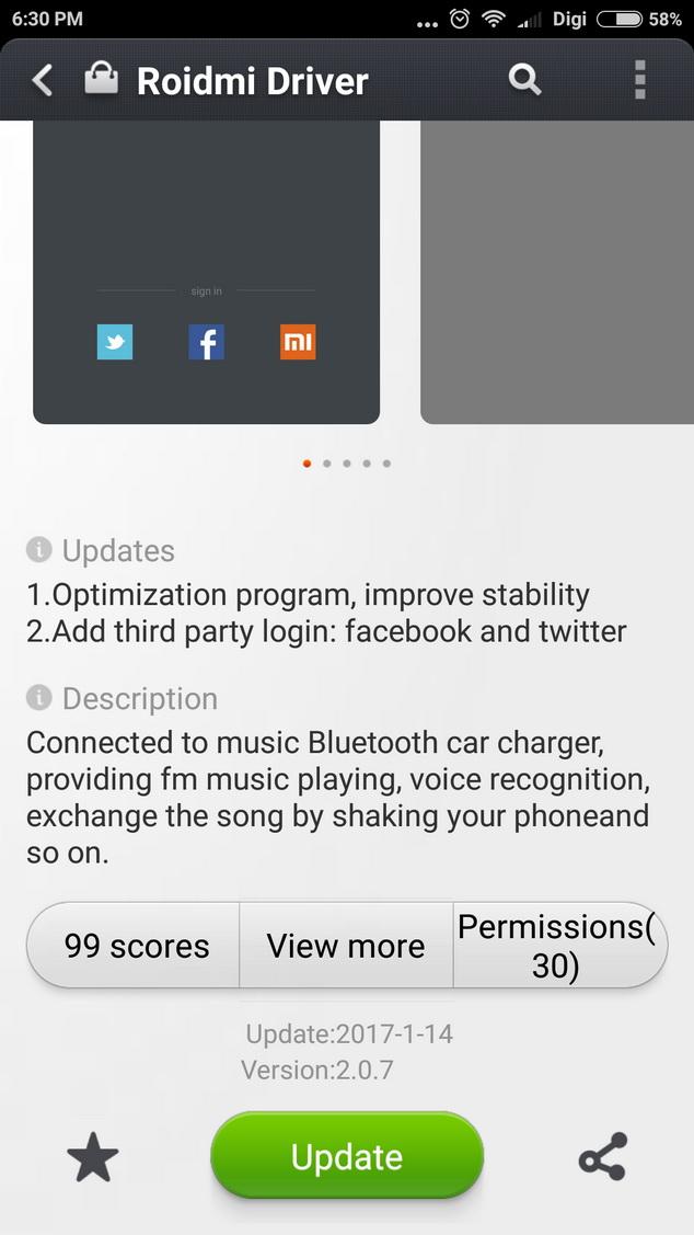 Xiaomi Roidmi Driver
