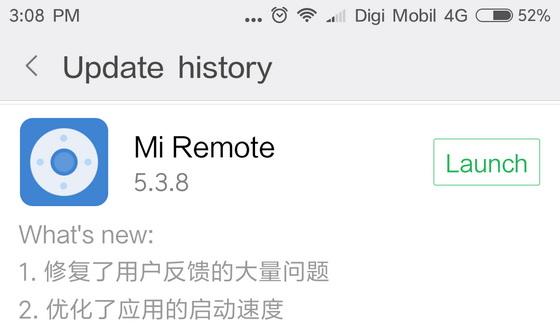 Xiaomi Mi Remote Controller