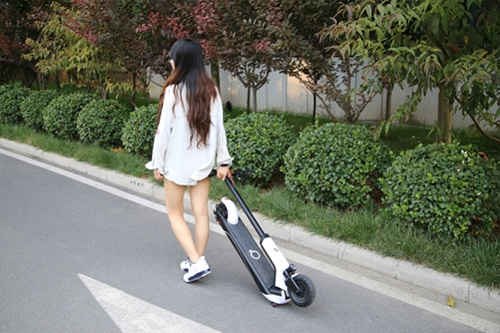 QiCycle EUNi Electric Scooter