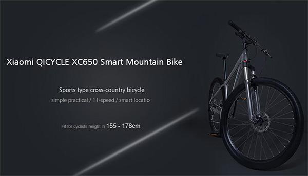QiCYCLE XC650 Smart Road Bike