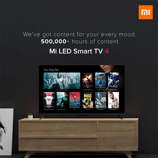 Mi TV 4 in India