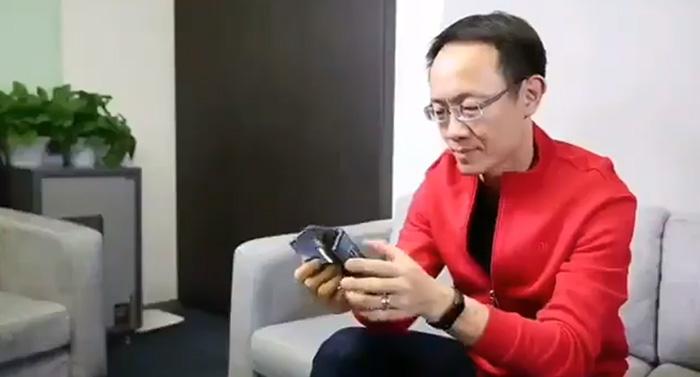 Xiaomi's foldable smartphone