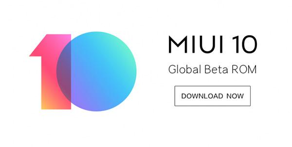 MIUI 10 Global Public Beta ROM Download Links