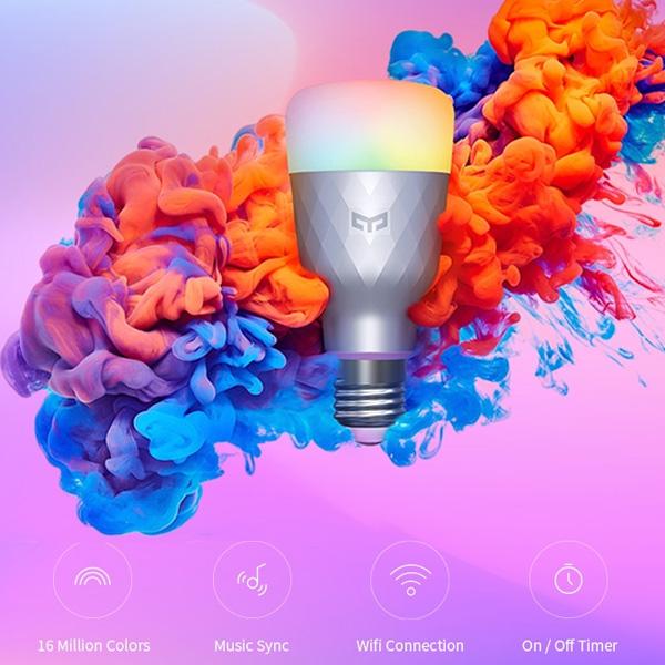 Yeelight 1SE E27 6W RGBW AC 100 - 240V Smart LED
